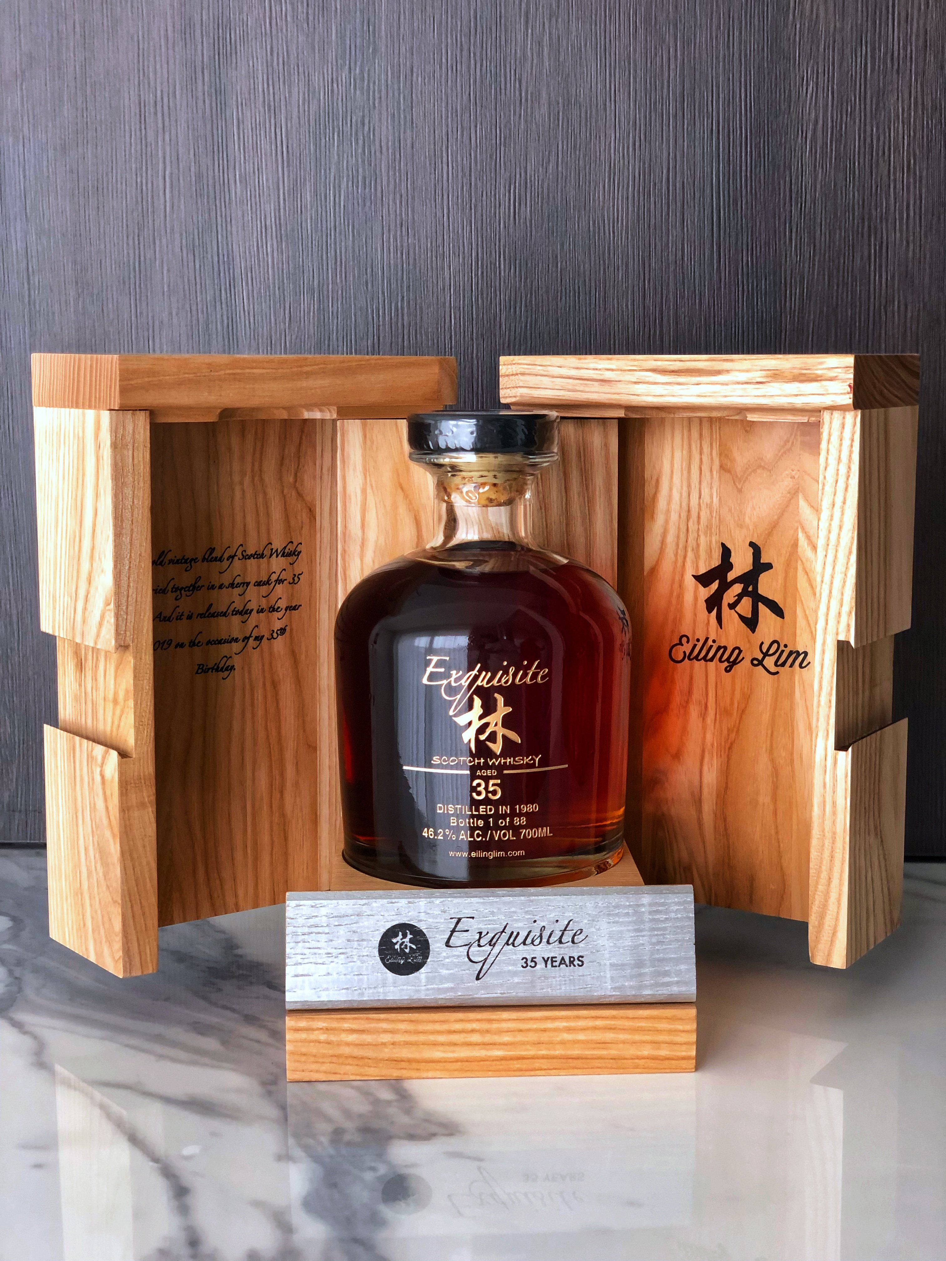 Exquisite 35yo, 46,2%, Scotch Whisky , 88 bottles